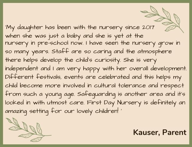 FDN Testimonial Green - Kauser Parent