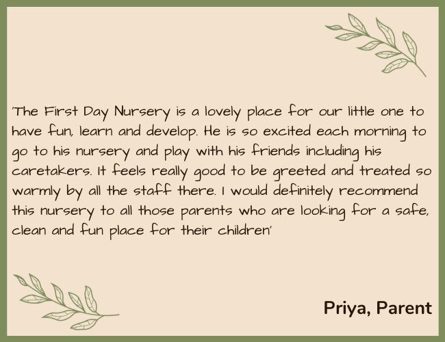FDN Testimonial Green - Priya Parent