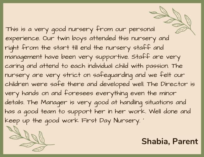 FDN Testimonial Green - Shabia Parent